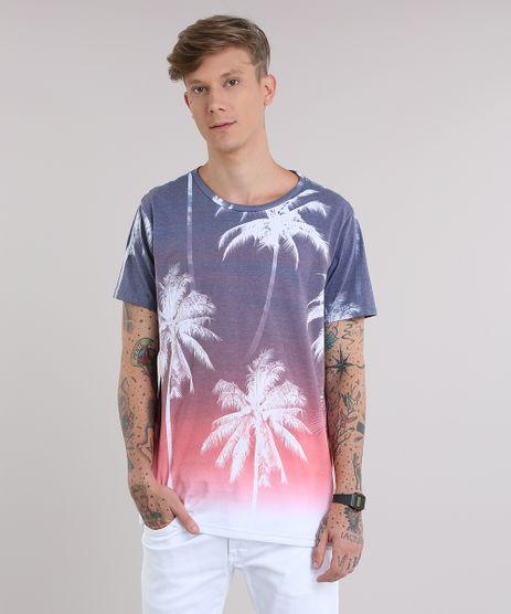 Camiseta-Estampada-de-Coqueiros-Roxa-8837711-Roxo_1