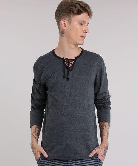 Camiseta-Botone-Mescla-Cinza-Mescla-Escuro-8812169-Cinza_Mescla_Escuro_1