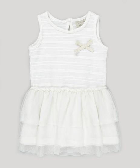 Vestido-Texturizado-com-Tule-Off-White-8814822-Off_White_1