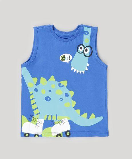 Regata-com-Estampa-de-Dinossauro-Azul-8926185-Azul_1