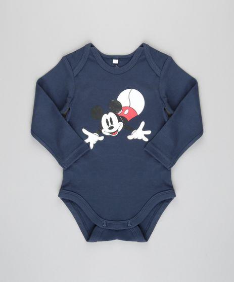 Body-Mickey-em-Algodao---Sustentavel-Azul-Marinho-8691144-Azul_Marinho_1