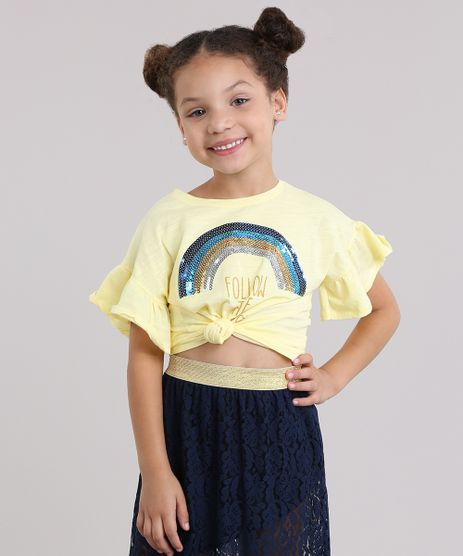 Blusa---Follow-The-Rainbow--com-Paetes-Amarelo-8808858-Amarelo_1