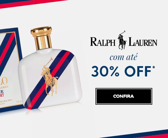 Banner Carrossel - Ralph Lauren com ate 30% OFF