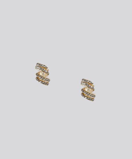 Brinco-Geometrico-com-Strass-Dourado-8790173-Dourado_1