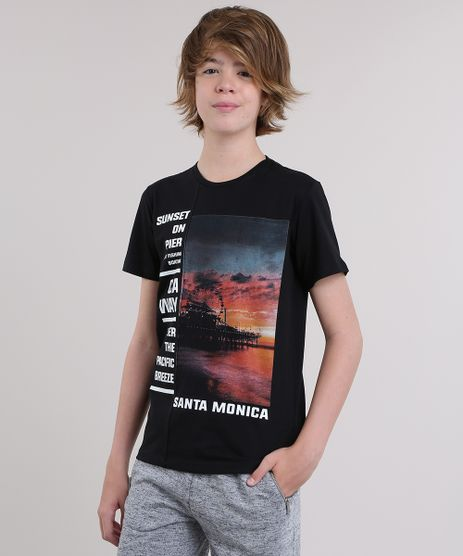 Camiseta--Sunset-on-pier--Preta-8809714-Preto_1