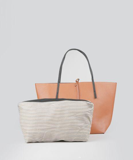 Bolsa-Shopper-Dupla-Face-Caramelo-8506427-Caramelo_1
