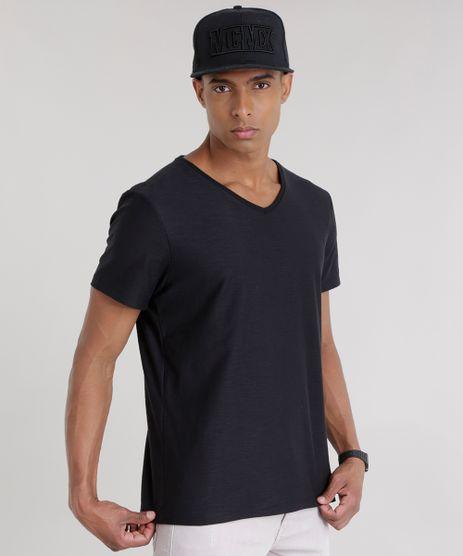 Camiseta-Flame-Basica-Preta-8144866-Preto_1