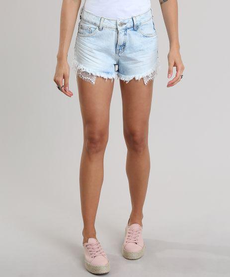 Short-Jeans-Relax-com-Renda-Azul-Claro-8835812-Azul_Claro_1