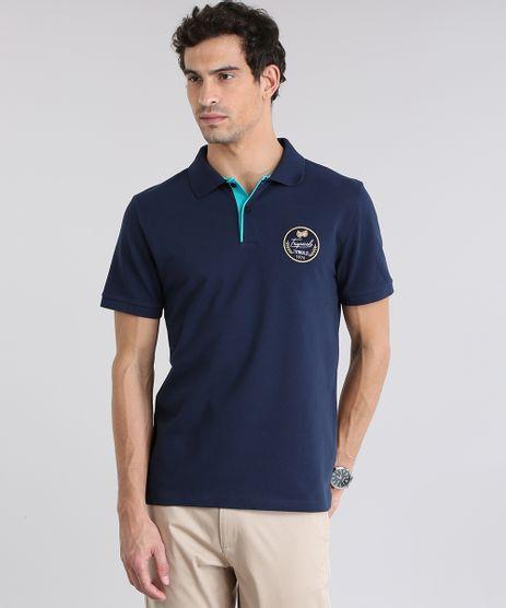 Polo-em-Piquet-com-Patch-Azul-Marinho-8726610-Azul_Marinho_1