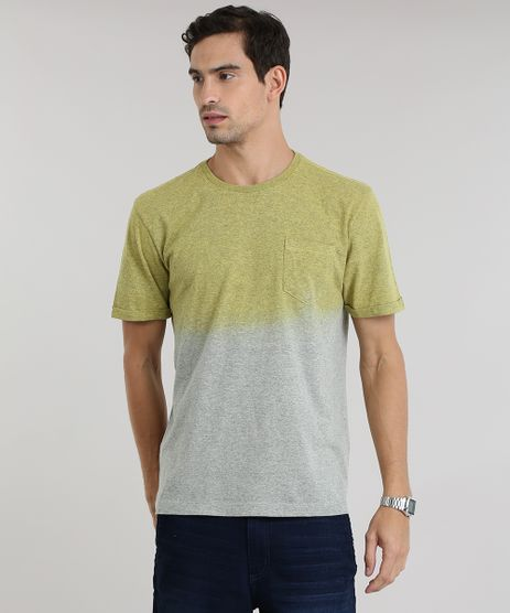 Camiseta-Degrade-Mescla-com-Bolso-Amarela-8783928-Amarelo_1