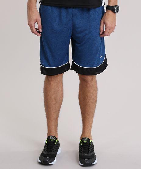 Bermuda-de-Futebol-Ace-com-Recorte-Azul-8818859-Azul_1