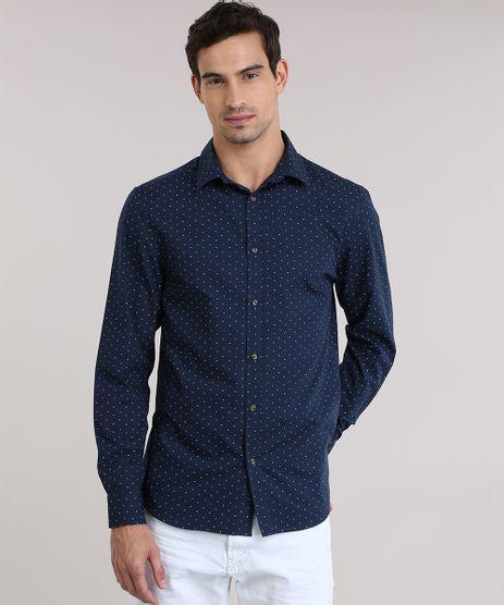 Camisa-Slim-Estampada-Azul-Marinho-8635209-Azul_Marinho_1