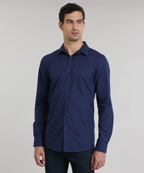 Camisa-Slim-Listrada-Azul-Marinho-8636909-Azul_Marinho_1