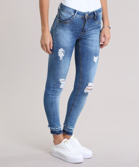 Calca-Jeans-Super-Skinny-Destroyed-Sawary-Azul-Medio-8935523-Azul_Medio_1