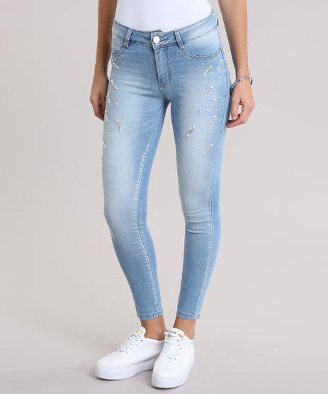 Calca-Jeans-Cigarrete-Sawary-com-Brilho-Azul-Claro-9034799-Azul_Claro_1