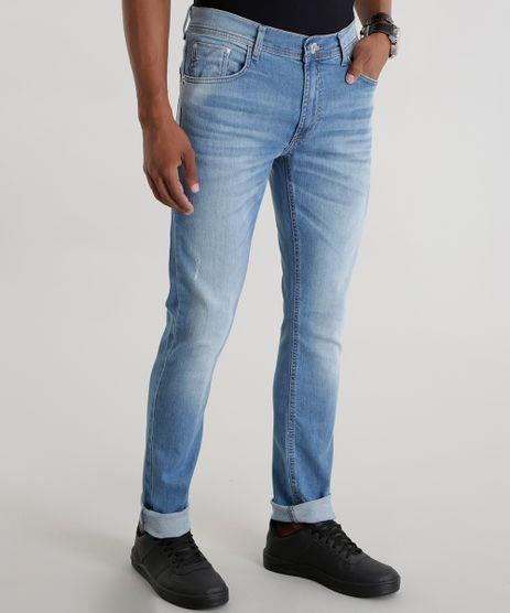 Calca-Jeans-Skinny-com-Algodao---Sustentavel-Azul-Claro-8570376-Azul_Claro_1