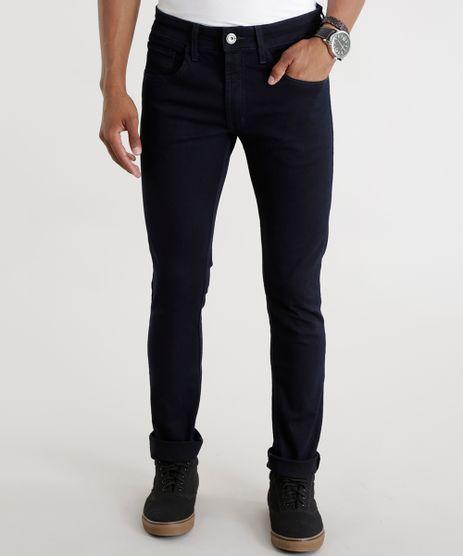 Calca-Jeans-Skinny-em-Algodao---Sustentavel-Azul-Escuro-8604472-Azul_Escuro_1