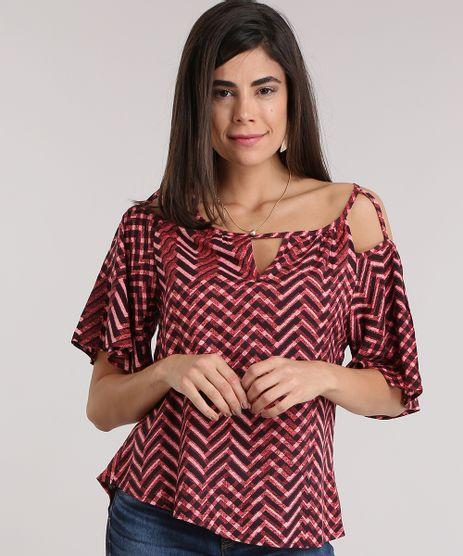 Blusa-Open-Shoulder-Estampada-Geometrica-Vermelha-8873934-Vermelho_1