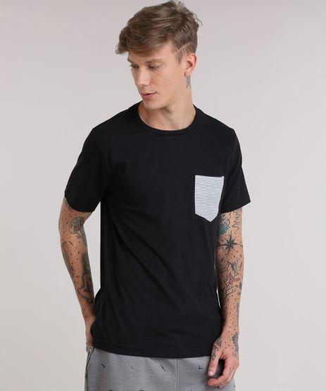 Camiseta-com-Bolso-Estampado-Listrado-Preta-8931816-Preto_1
