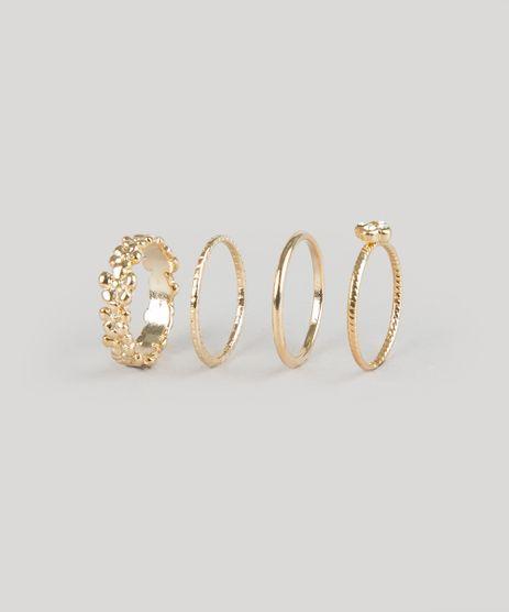 Kit-de-4-Aneis-Dourado-8793015-Dourado_1
