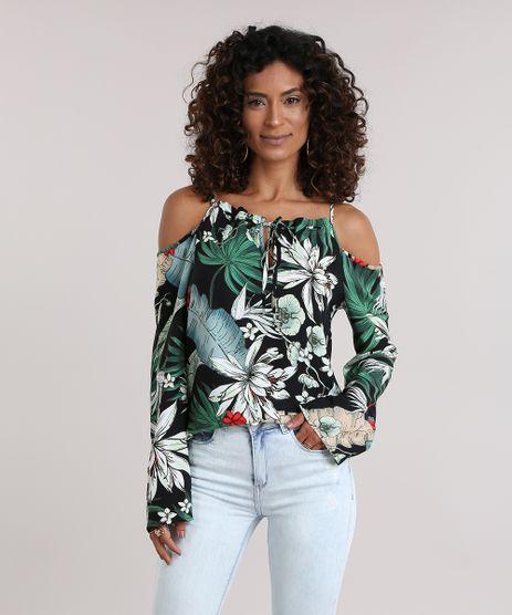 Blusa-Open-Shoulder-Estampada-Floral-Preta-8740967-Preto_1