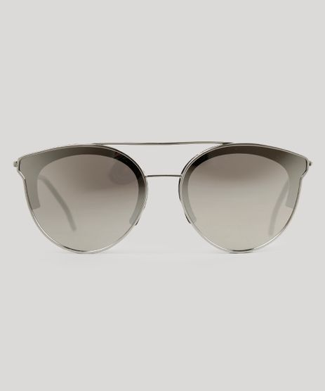 Oculos-de-Sol-Redondo-Feminino-Oneself-Prateado-9015708-Prateado_1