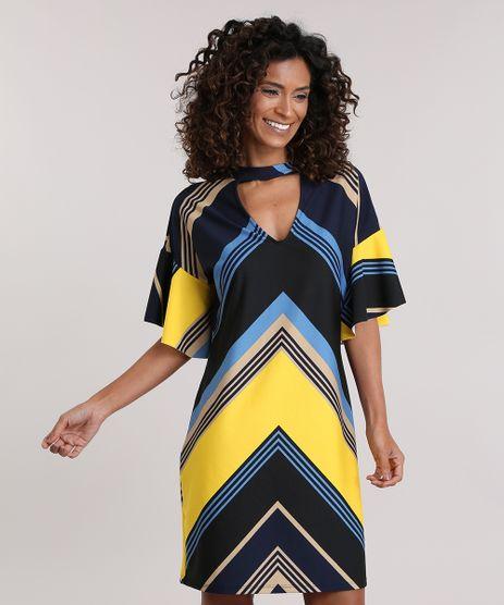 Vestido-Choker-Estampado-Geometrico-Azul-Marinho-8865137-Azul_Marinho_1