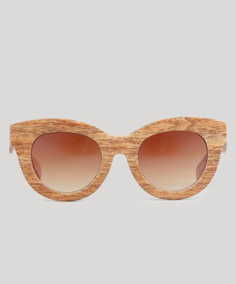 Oculos-de-Sol-Gatinho-Feminino-Oneself-Marrom-9015924-Marrom_1