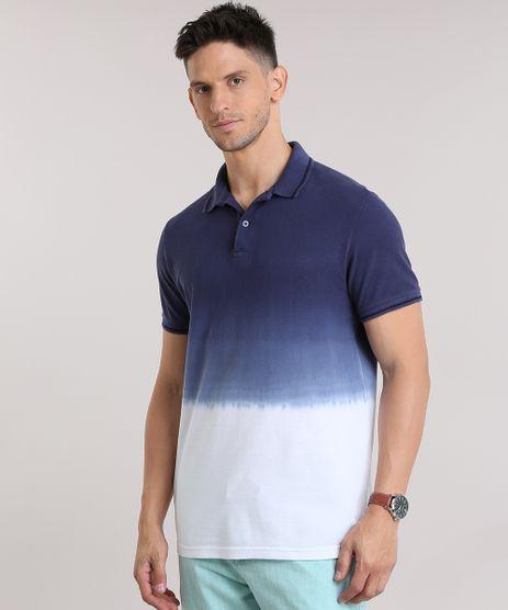 Polo-em-Piquet-Degrade-Azul-Marinho-8783889-Azul_Marinho_1