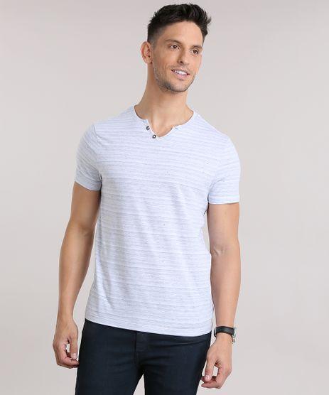 Camiseta-Botone-Listrada-Cinza-Claro-8807237-Cinza_Claro_1