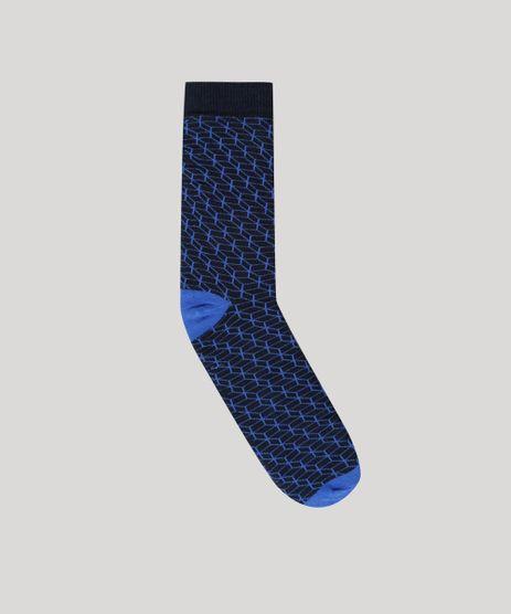 Meia-Estampada-Geometrica-Azul-Marinho-8836920-Azul_Marinho_1