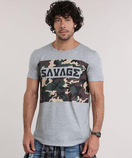 Camiseta--Savage--com-Estampa-Camuflada-Cinza-Mescla-8908856-Cinza_Mescla_1