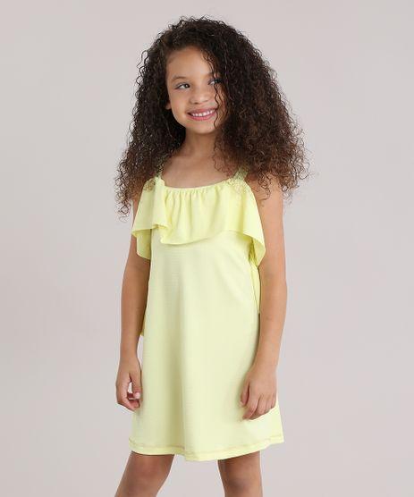 Vestido-Texturizado-com-Babado-Amarelo-8830233-Amarelo_1