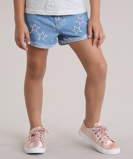 Short-Jeans-com-Bordado-de-Estrelas-Azul-Claro-8926338-Azul_Claro_1