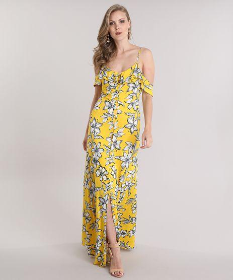 Vestido-Longo-Open-Shoulder-Estampado-Floral-Amarelo-8821226-Amarelo_1