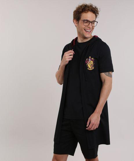 Capa-Harry-Potter--Grifinoria--com-Capuz-Preta-8933799-Preto_1