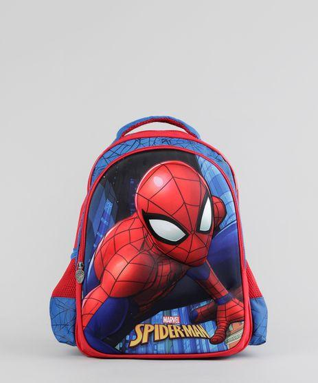 Mochila-Escolar-Infantil-Homem-Aranha-de-Costas-3D-Azul-Royal-8744890-Azul_Royal_1