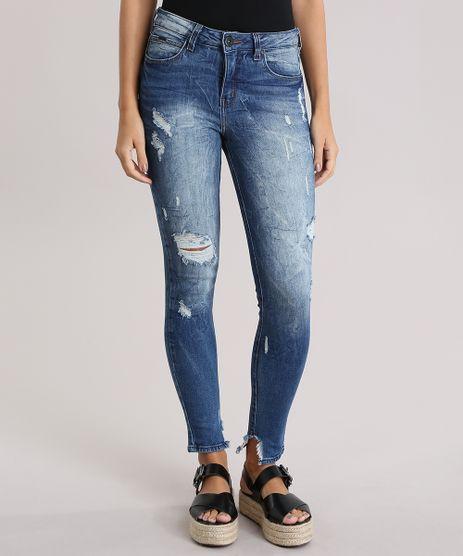 Calca-Jeans-Cigarrete-Destroyed-Azul-Escuro-8832733-Azul_Escuro_1