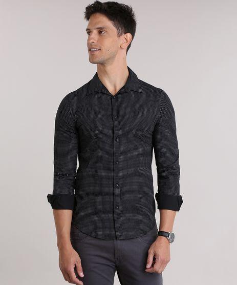 Camisa-Slim-Estampada-Preta-8828785-Preto_1