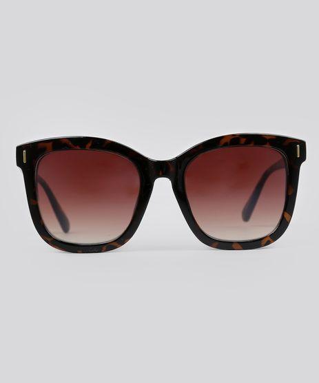 Oculos-de-Sol-Quadrado-Feminino-Oneself-Marrom-9056700-Marrom_1