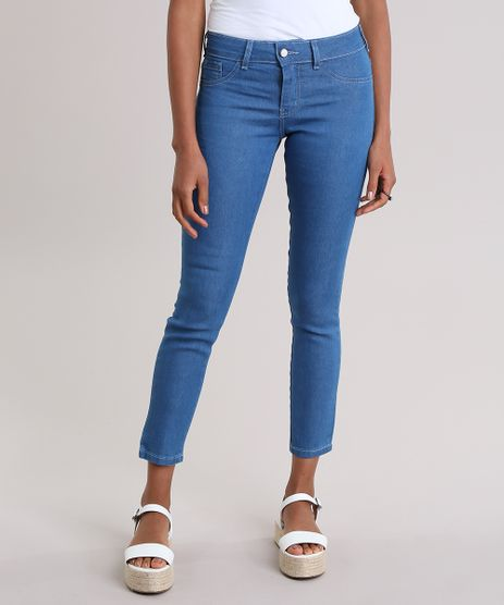 Calca-Jeans-Cigarrete-com-Algodao---Sustentavel-Azul-Claro-8710253-Azul_Claro_1