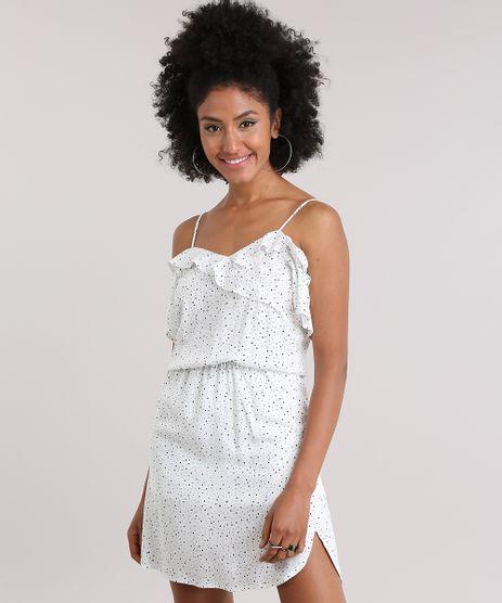 Vestido-Open-Shoulder-Estampado-de-Poa-com-Babados-Off-White-8837501-Off_White_1