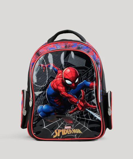 Mochila-Escolar-Infantil-Homem-Aranha-de-Costas-Preta-8744887-Preto_1