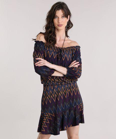 Vestido-Ombro-a-Ombro-Estampado-Geometrico-Azul-Marinho-9013535-Azul_Marinho_1