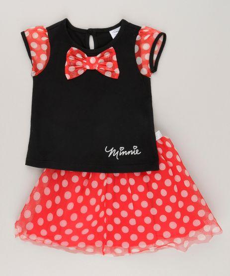 Conjunto-Minnie-de-Blusa-Preta---Saia-em-Tule-Estampada-de-Poa-Vermelha-8895702-Vermelho_1