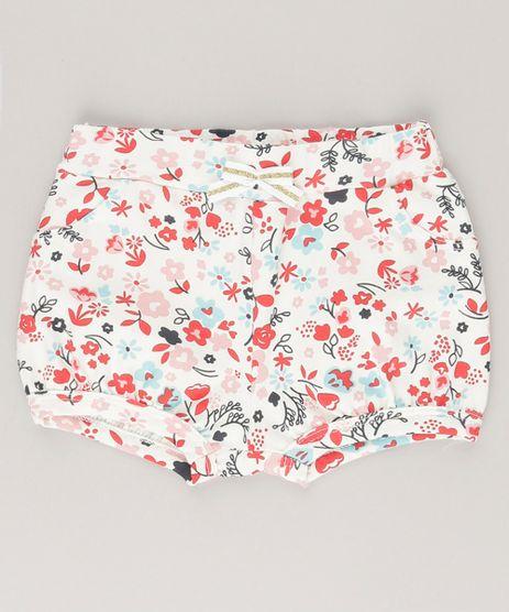 Short-Estampado-Floral-em-Algodao---Sustentavel-Off-White-9035999-Off_White_1
