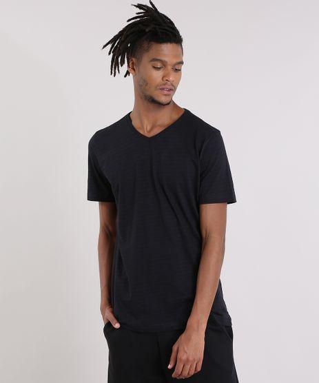 Camiseta-Basica-Listrada-Preta-8540896-Preto_1