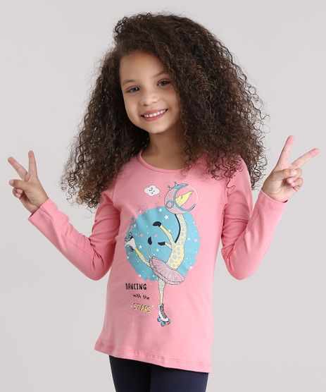 Blusa--Dancing-With-The-Stars--em-Algodao---Sustentavel-Rosa-9014058-Rosa_1