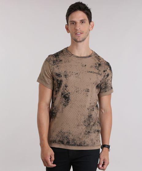 Camiseta--Unrealistic--Bege-8956639-Bege_1