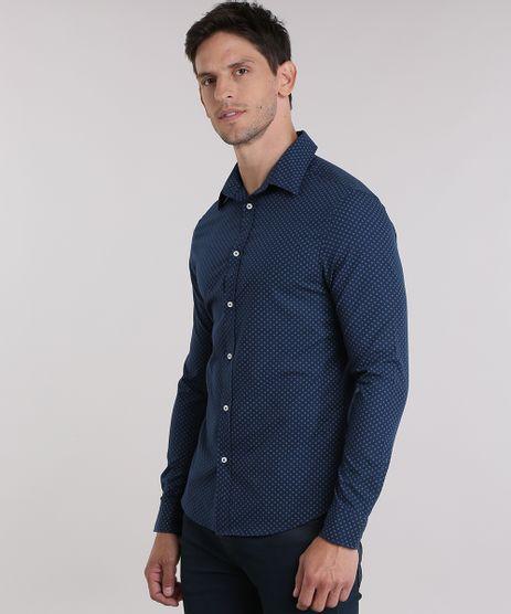 Camisa-Slim-Estampada-Azul-Marinho-8851754-Azul_Marinho_1